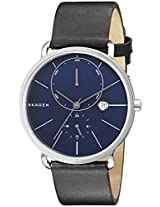 Skagen End-of-season Hagen Analog Blue Dial Men's Watch - SKW6241