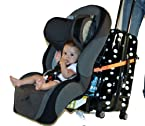 Go-Go Babyz Travelmate Car Seat Luggage Strap, One Size (Orange)