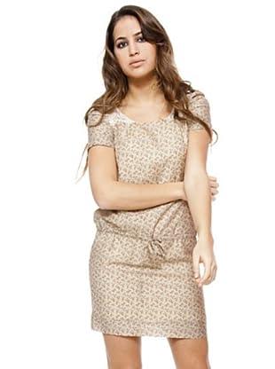 I-Code Vestido Estampado (visón)