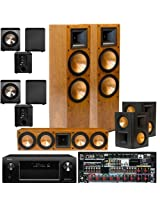 Klipsch RF-7II CHERRY Theater System, Denon AVR-X4000 IN-Command 7.2 , 2 BIC Acoustech PL-200