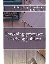 Forskningsprocessen: Skriv Og Publicer