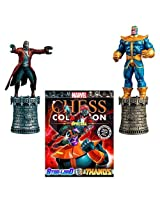 Marvel Chess Figurine Collection Magazine Special #3 Star Lord & Thanos