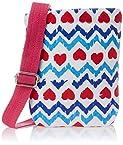 Kanvas Katha Women's Sling Bag (White) (KKUMS/AMZ/01W)