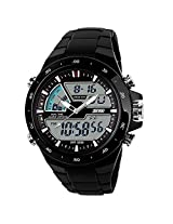 Gosasa SKMEI 1016 New Sports Watch Silicone 50M water resistant Light Digital, Black