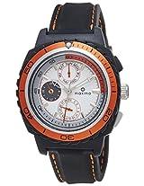 Maxima Fiber Analog White Dial Men's Watch - 30760PPGN