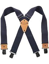 Dickies Men's Industrial Strength Suspenders, Navy, One Size