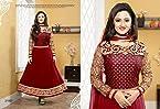 Rashmi desai Exclusive Designer Red Salwar Kameez