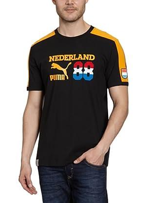 Puma T-Shirt Football Archives T7 Ringer (black-holland)