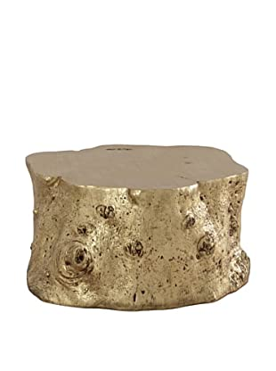 Phillips Collection Log Cocktail Table (Gold)