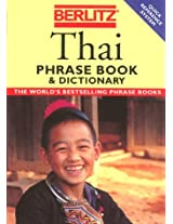 Thai Phrase Book with Dictionary (Berlitz Phrasebooks)
