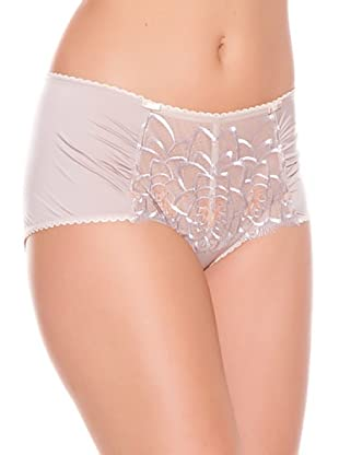 Playtex Short coulotte Embroidered Flowers (Beige)