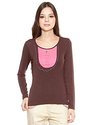 Poupé Chic Camiseta Tablitas (Marrón)