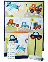 Lambs & Ivy 7 Count Bedding Set, Little Traveler