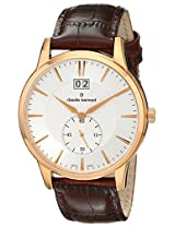 Claude Bernard Analogue Silver Dial Men's Watch - 64005 37R AIR