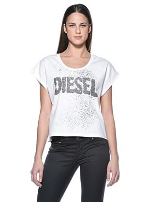 Diesel T-Shirt Dona (Weiß)