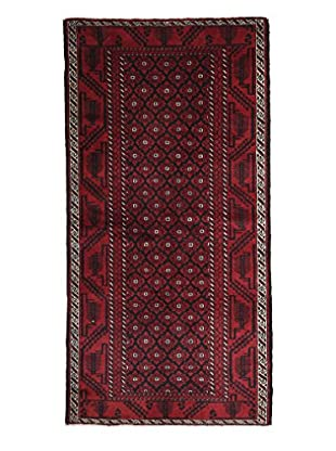 Persian Baluch Rug, Red, 4' x 8'