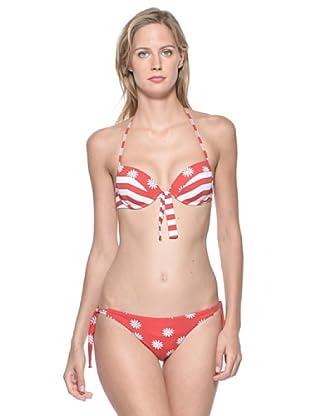 Rosapois Mare Bikini (Rosso)
