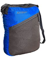 Wildcraft Women's Pac n Go Sling Nylon 6 Ltrs Blue and Grey Messenger Bags (8903338012474)