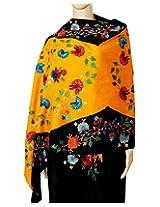 Indian Fashion Guru Beautiful Floral Multicolor Embroidery shawls