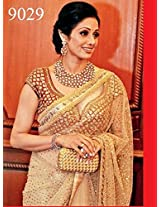 Indian Bollywood Designer Replica Sridevi Gorgeous Weddingwear Saree