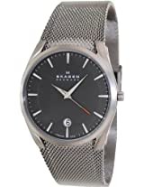 Skagen Aktiv Analog Black Dial Men's Watch - SKW6010