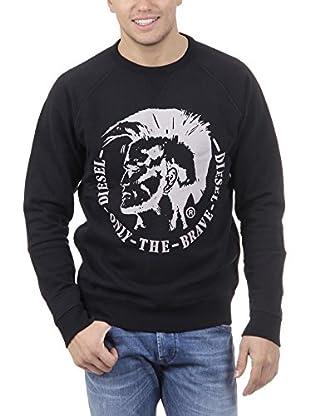 Diesel Sweatshirt S-Orestes Wash