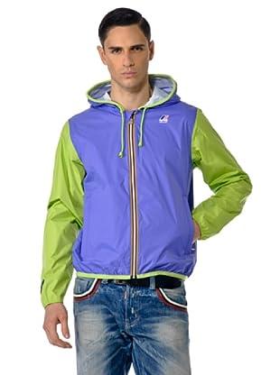 K-WAY Chaqueta Limo Jacques Plus (Violeta/Verde)