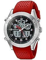 Quiksilver Analog-Digital Brown Dial Men's Watch - QS-1017-RDSV