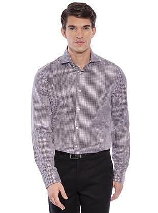 Hackett Camicia Quadri (Marrone/Bianco)