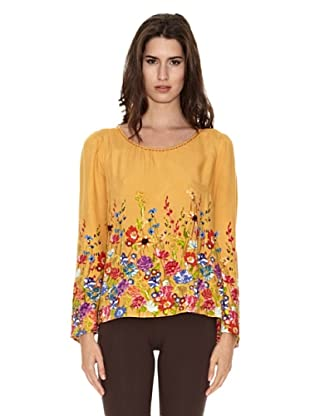 Peace & Love Blusa Xining (Ocre)
