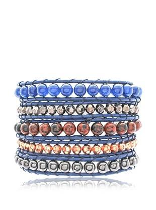 Lucie & Jade Armband  dunkelblau/mehrfarbig