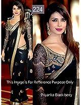 Bollywood Replica Sarees Priyanka Blackberry By Namo House