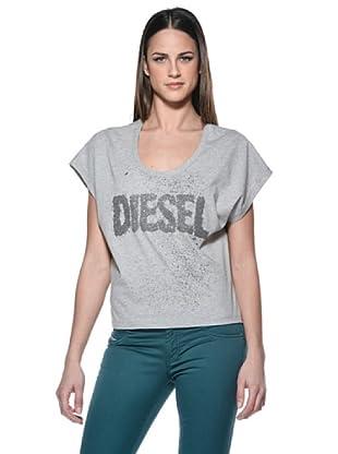 Diesel T-Shirt Dona (Grau)