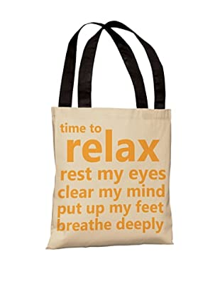 One Bella Casa Time to Relax Beach Tote