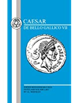 Caesar: The Gallic War - 7 (Latin Texts)