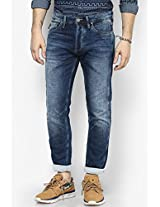 Blue Anti Fit Knitted Jeans (erik) Jack & Jones