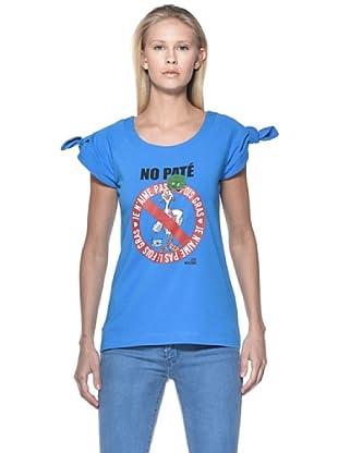 Love Moschino Camiseta Fiocco (Azul)
