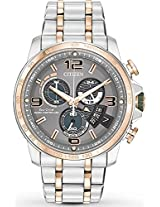 Citizen Chrono Time At Stainless Steel Mens Watch By0106-55H