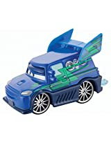 Disney/Pixar Cars, Tuners Die-Cast Vehicle, DJ with Flames #4/8, 1:55 Scale