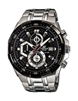 Casio Edifice EFR-539D-1AV ( EX191 ) Chronograph Black Dial Men's Watch