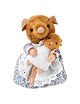 Hunca Munca And Baby Plush 16cm