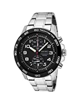 Seiko Analog Black Dial Men's Watch - SNN193P1