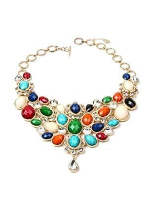 Amrita Singh Collar Crystal South Fork Bib Fall Multicolor
