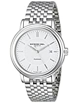 Raymond Weil Men's 2847-ST-30001 Maestro Analog Display Swiss Automatic Silver Watch