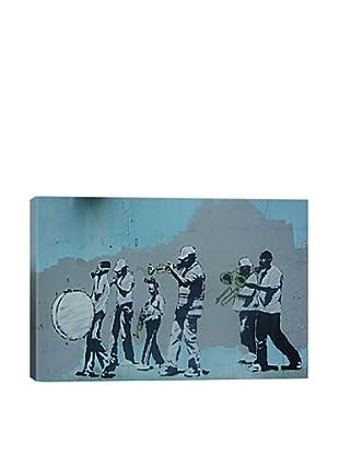 Banksy Musicians Ultrachrome Canvas Print