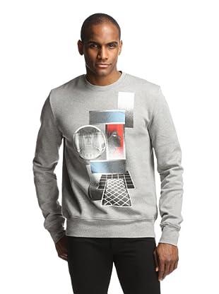 Dior Men's Abstract Sweatshirt (Grey)
