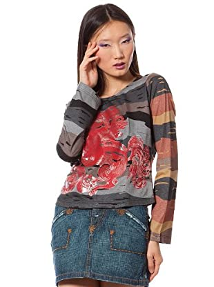 Custo Camiseta Progo (Multicolor)