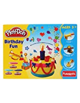 Funskool Birthday Fun Play Doh - Pack of 1, F