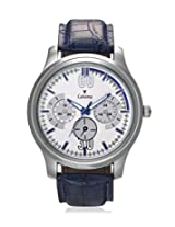 Calvino Men's White Dial Watch CGAS_1515524_BlueWhite