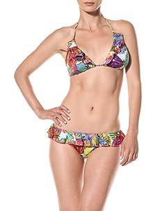 Nanette Lepore Swim Women's Papillon Vixen Bikini Top (Butterfly)